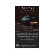 Numi Aged Puerh Tea Bricks 12 Portions - 2.2 Oz
