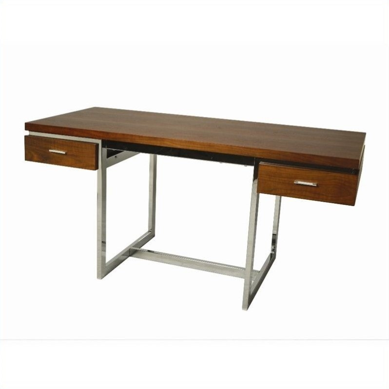 Pastel Furniture Dupont Office Desk in Walnut by Pastel Furniture