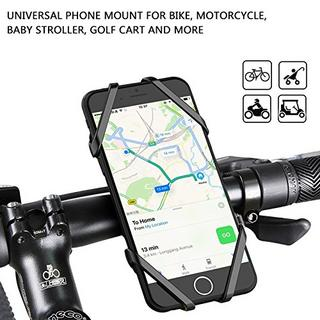 Bike Phone Mount, Jelly Comb Universal Anti-Slip Adjustable Bicycle Motorcycle Cell Phone Holder For iPhone 7 6 6(+) 6s 6s Plus, Samsung Galaxy S8 S7 S6, Nexus, HTC, LG and More