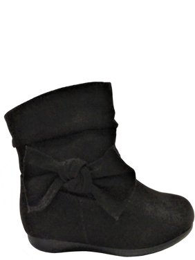 Wonder Nation Bow Slouch Boot (Toddler Girls)