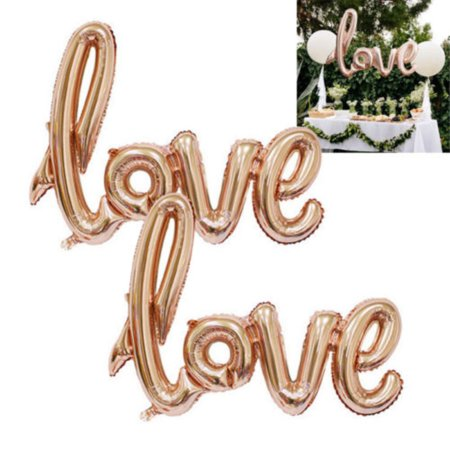 Girl12Queen Valentine Love Letter Foil Balloon Engagement Wedding Birthday Party Decoration