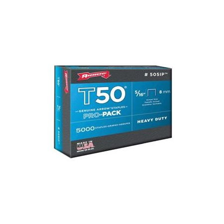 Arrow 5 16-Inch T50 Staples, 5000 Count by Arrow Fastener Co.