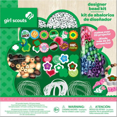 Girl Scouts Designer Bead Kit Walmart Com