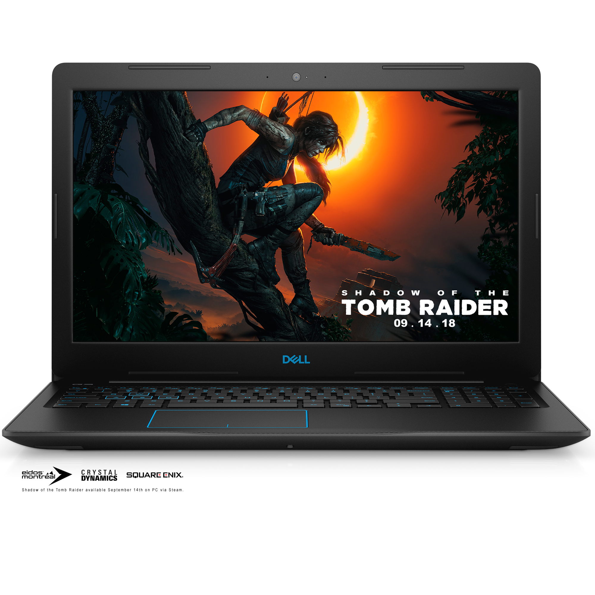 "Dell G3 15 Gaming Laptop, 15.6"", Intel® Core™ i7-8750H, NVIDIA® GeForce® GTX 1050 Ti 4GB, 256 GB (SSD) Storage + 1 TB HDD, 16GB RAM, G3579-7972BLK-PUS Gaming Bundle included"