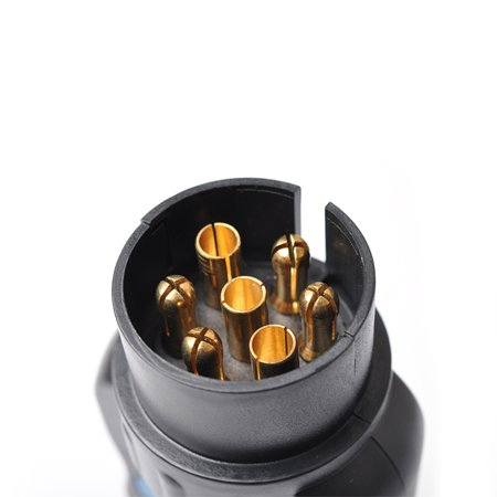 Diagnostic Tool 7 Pin Vehicle Car Trailer Wiring Tester Circuit Plug Socket Tester - image 7 de 7