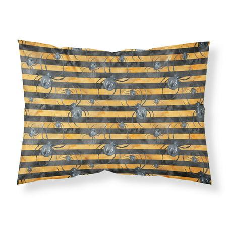 Watecolor Halloween Spiders Fabric Standard Pillowcase BB7526PILLOWCASE