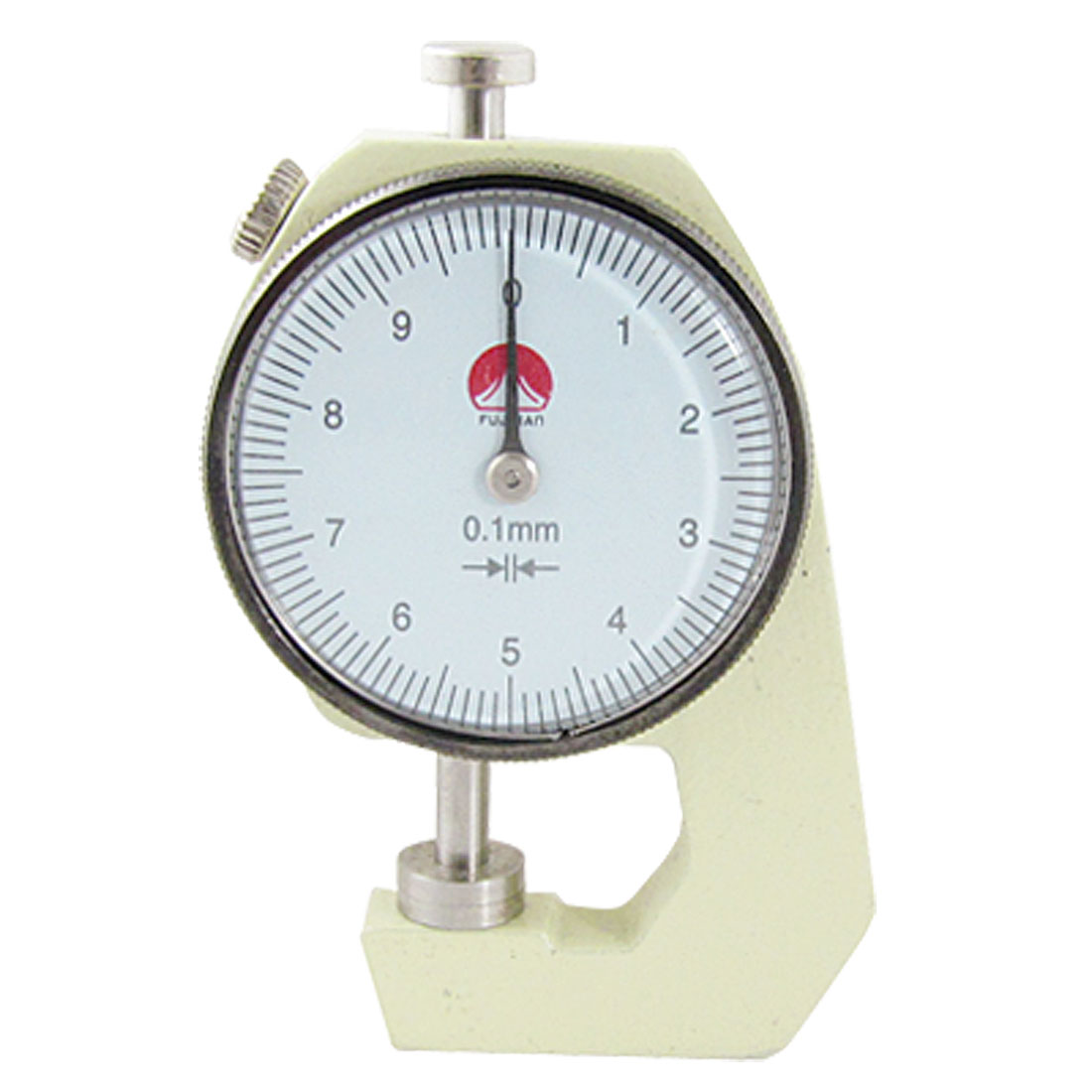 Unique Bargains Dial Indicator Pocket Thickness Gauge Gage 0 to 10mm Aqqsn by Unique-Bargains