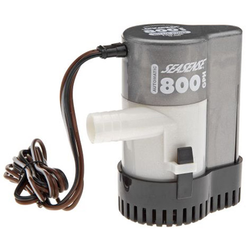 Click here to buy SeaSense 800 GPH Fully Automatic Bilge Pump by Sea Sense.