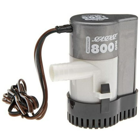 - SeaSense 800 GPH Fully Automatic Bilge Pump