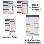 JJ KELLER 241-AZS Labor Law Poster,STA,AZ,ENG,11Wx8-1/2inH G0030357