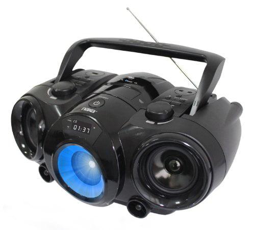 Naxa NAXNPB261B MP3/CD Boombox with Bluetooth