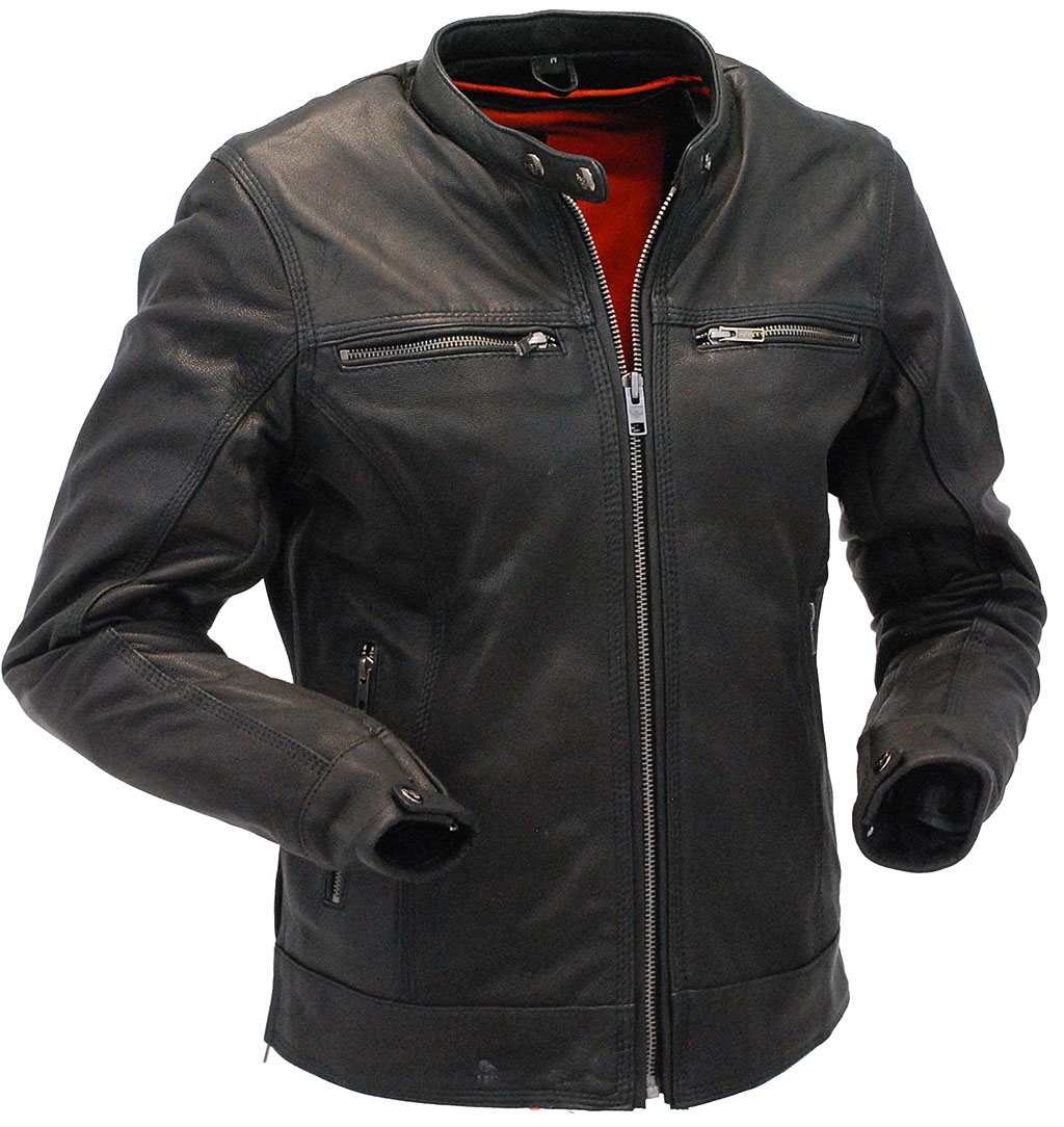 Milwaukee Naked Leather CCW Scooter Jacket for Women #L25510VZK- S