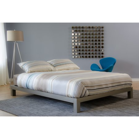 Motif Designs Motif Design Aura Gray Platform bed ()