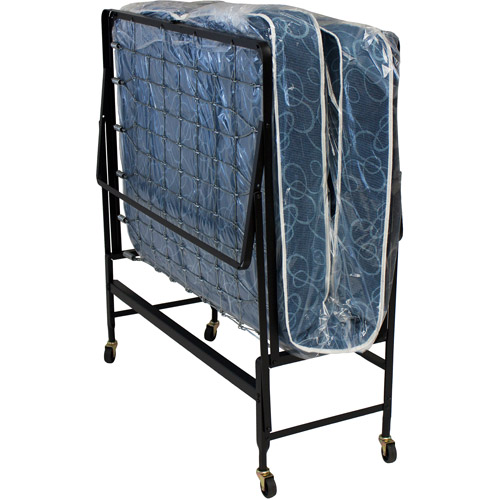 Hollywood Rollaway Bed Spring Mattress, Foldable with Wheels,Twin