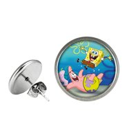 Spongebob Post Stud Earrings