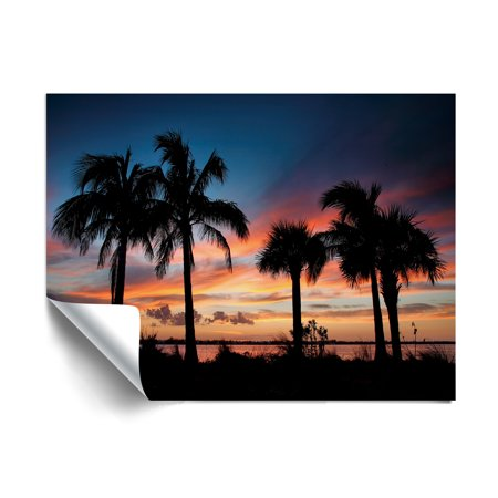 ArtWall Steve Ainsworth Tropical Sunset II Wall (Tropical Sunset Pictures)
