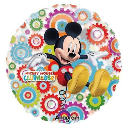 Xl 26 Quot Mickey Mouse Clubhouse See Thru Plastic Balloon