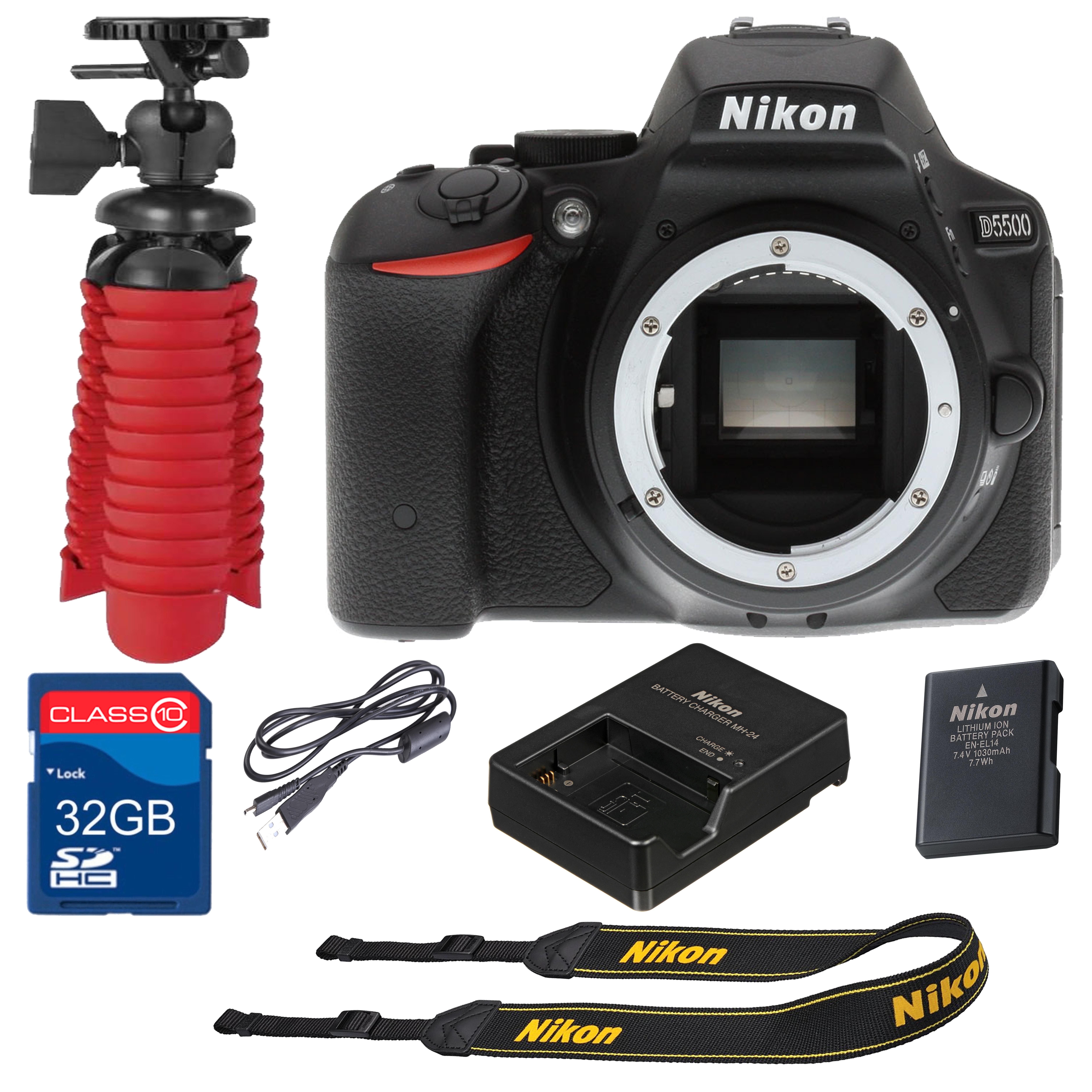 Nikon D5500 Digital SLR Camera  24.2 Megapixels  Body Only