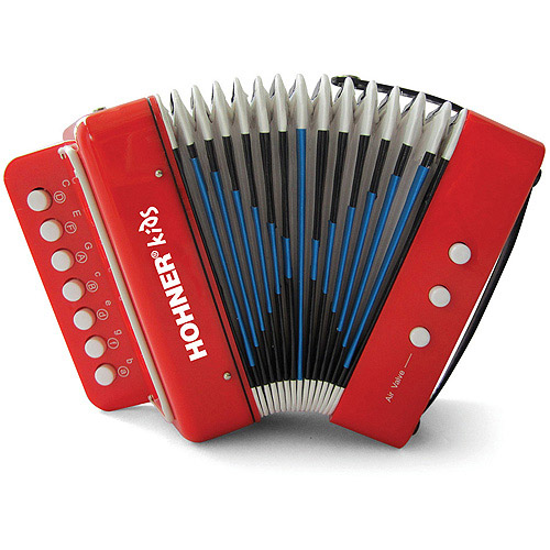 Hohner Kids UC102R Toy Accordion Red by Hohner