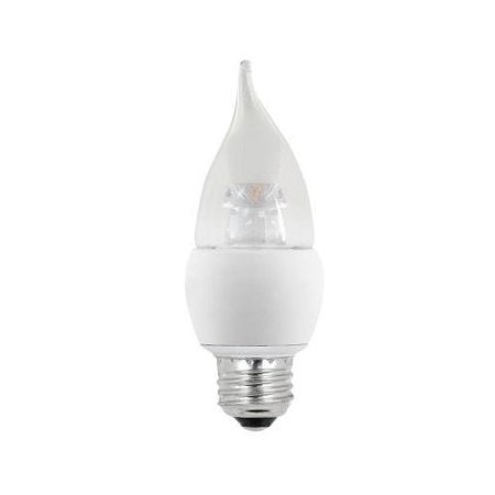 60w Equivalent Soft White 2700k B10 Medium Base Led Light Bulb Color