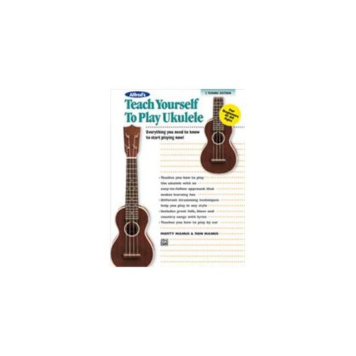 Alfred Alfred's Teach Yourself to Play Ukulele, C-Tuning Edition by Alfred