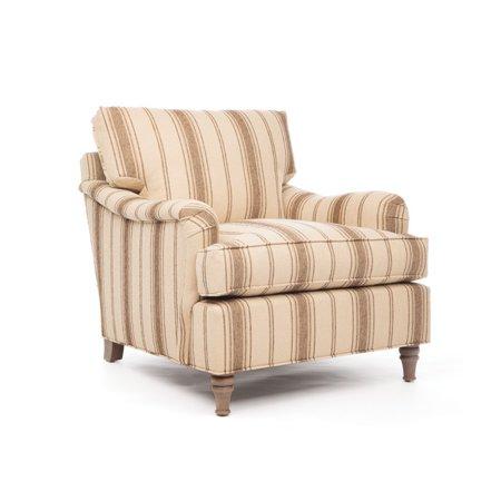 Eclipse Home Collection Nassau Chair Cachet Sand No Nailheads 36   L  X 38   W  X 36   H
