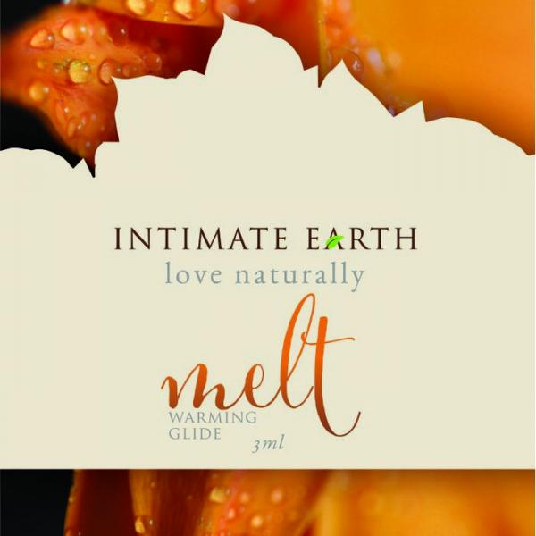 Intimate Earth Melt Warming Glide Foil Pack Sample Size
