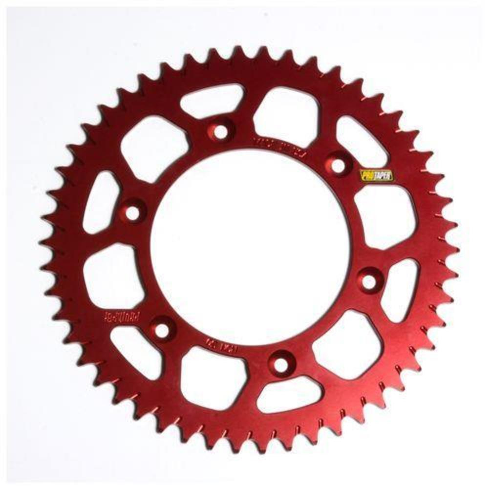 ProTaper 033236 Race Spec Aluminum Rear Sprocket - Red - 50T