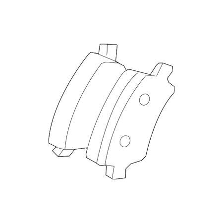 - Genuine OE Volvo Brake Pads 30671575