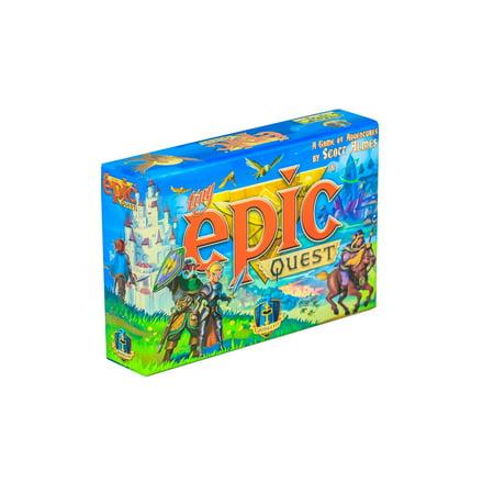 Tiny Epic Quest Fantasy Board Game: A Small Box Adventure (Solar Quest Board Game)