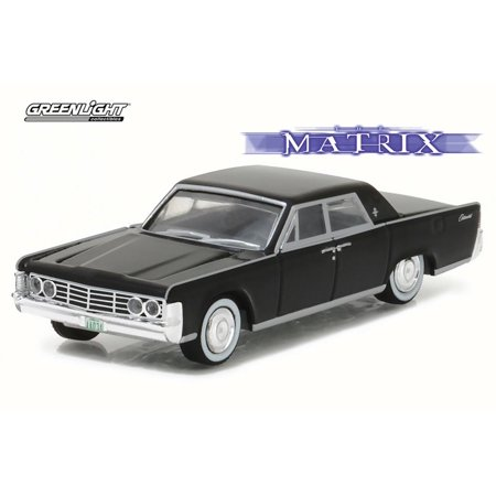 1965 lincoln continental the matrix jet black greenlight 44770 1 64 sca. Black Bedroom Furniture Sets. Home Design Ideas