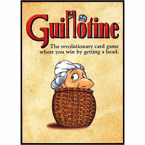 Guillotine Card Game