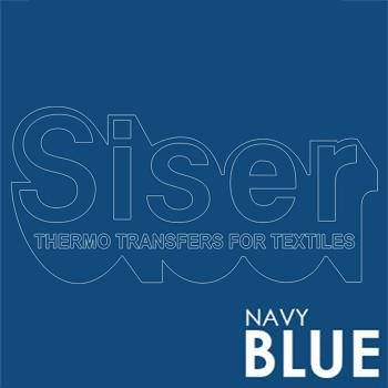 Siser Easyweed Navy Blue Iron Heat Transfer Vinyl Roll HTV (Choose Your Size)