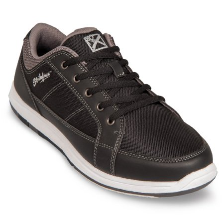 KR Strikeforce Spartan Black/Charcoal Men's Bowling Shoes, Size