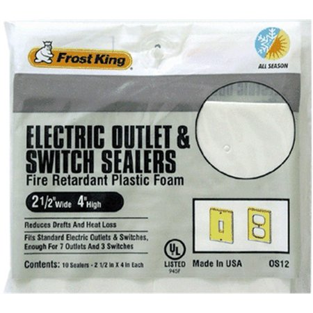 Os12h 7 Outlet Sealers & 3 Switch Sealers (1062)