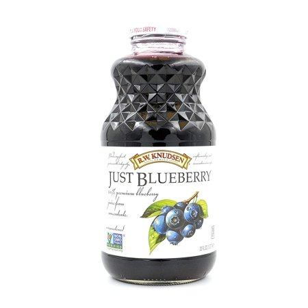 R.W. Knudsen Family Just Juice, 100% Blueberry, 32 Fluid