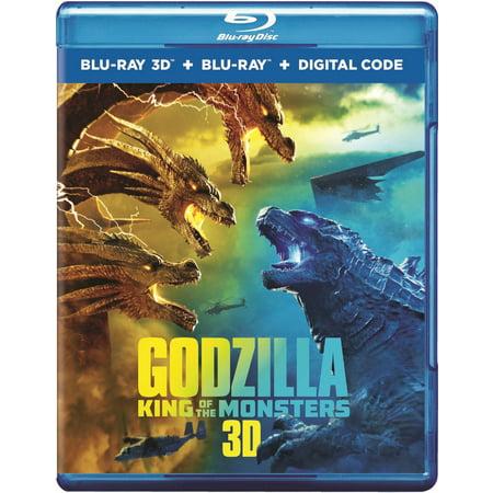 Godzilla: King of the Monsters (3D Blu-ray + Blu-ray + Digital