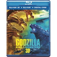 Godzilla: King of the Monsters (3D Blu-ray + Blu-ray + Digital Copy)