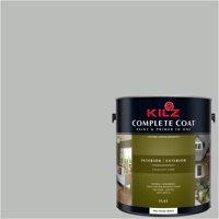 Streamlined Silver, KILZ COMPLETE COAT Interior/Exterior Paint & Primer in One, #RK200