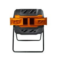 Genesis 42-Gallon UV-Resistant Plastic Tumbler Composter (GEN-C42-OR)