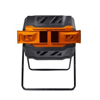Genesis 42-Gallon UV-Resistant Plastic Tumbler Composter