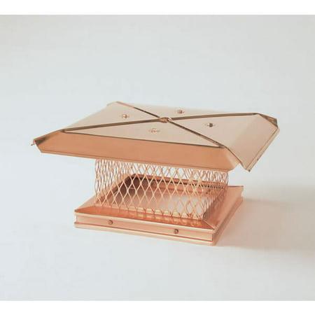 Gelco Single Flue, Copper Chimney Caps