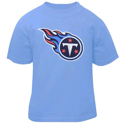 Tennessee Titans Toddler Team Logo T-Shirt - Blue