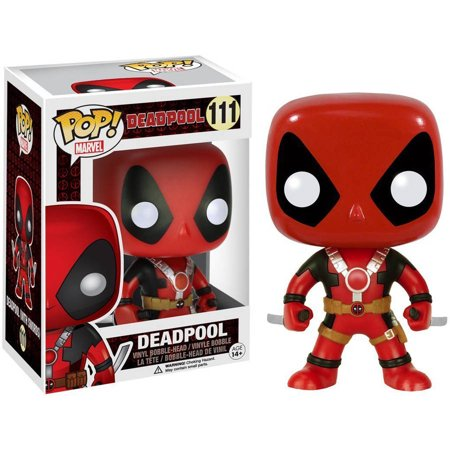 FUNKO POP! MARVEL: DEADPOOL - TWO SWORD