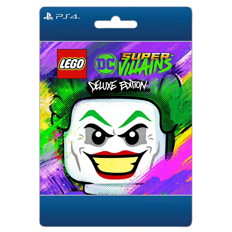 LEGO DC Super-Villains Deluxe Edition, Warner Bros., Playstation, [Digital Download]