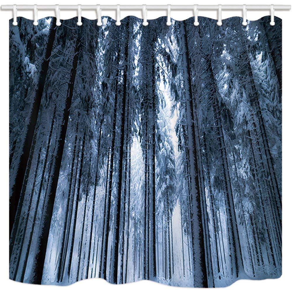 55f7a9c18fb3a ARTJIA Forest Winter Fir Tree Frigid Weather World Of Ice And Snow ...