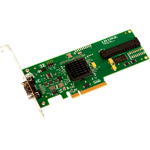 LSI SAS3442E-R RAID 3GB/s 8-Ports SAS PCI-Express Host Bus Adapter LSI00167