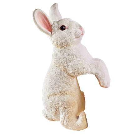 Realistic Peeping Bunny Decorative Figurine - Spring Yard and Home Decorative Accent