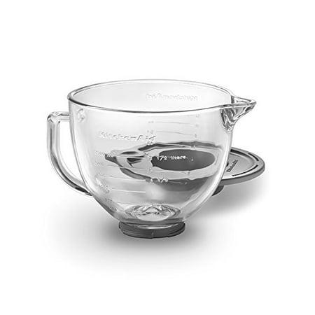 (KitchenAid K5GB 5-Qt. Tilt-Head Glass Bowl with Measurement Markings & Lid)