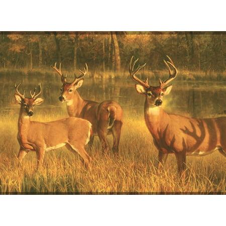 877657 Deer Wallpaper Border